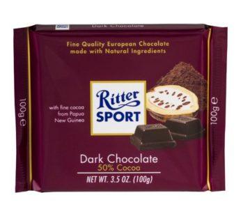 Rittersport, Dark Milk Chocolate 3.52oz