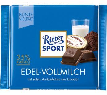 Ritter Sports, DARK 35 % COCOA 3.5oz