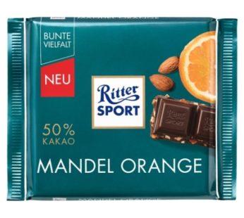 Ritter Sports, Mandel Orange 3.52oz