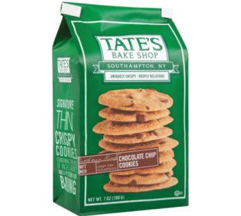 Tate, Cookies Choco Chip 7oz