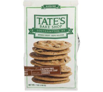 Tate, Cookies Gluten Free Choco Chip 7oz