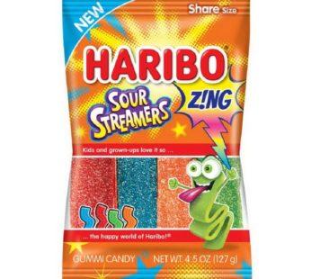 Haribo, Peg Bag Sour Streamers 4.5oz