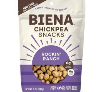 Biena, Chickpea Snack Rockin' Ranch 5oz