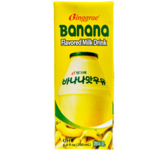 Binggrae, Banana Flavored Milk Drink 6.8fl.oz (24) SRP1.99