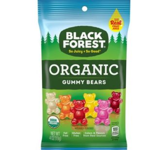 Black Forest, Organic Gummy Bears 4oz