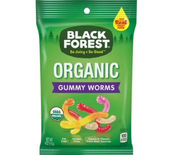 Black Forest, Organic Gummy Worms 4oz