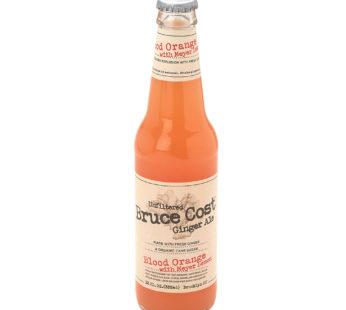 Brucecost, Ginger Ale Blood Orange 12fl.oz