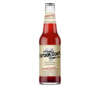 Brucecost, Ginger Ale Pomegranate 12oz (24)