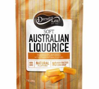 Darrell Lea, Mango Licorice 7oz