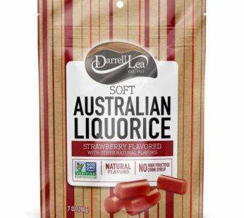 Darrell Lea, Strawberry Licorice 7oz