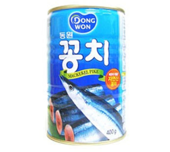 Dong won, Canned Pacific Saury 14.1oz