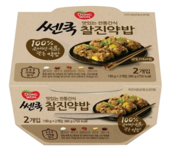 Dongwon, Cooked Flavored Glutinous Rice 2ea 6.7oz