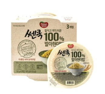 Dongwon, Cooked Brown Rice 3ea 6.87oz