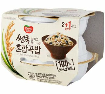 Dongwon, Cooked Whole Grain Rice 3ea 6.87oz