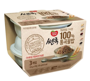 Dongwon, Cooked Mixed Grain Rice 3ea 7.40oz