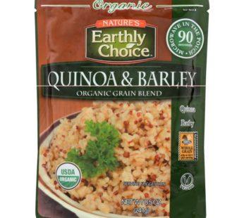 Earthly Choice, Org. Quinoa & Barley Grain Blend (Microwavable) 8.5oz