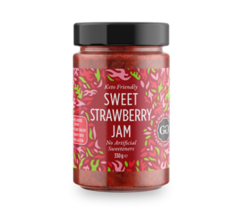 Good Good, Sweet Keto Friendly Jam Strawberry