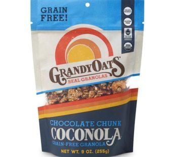Grandy Oats, Coconola Granola Chocolate Chunk 9oz