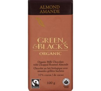 Green & Black's, Organic Almond Milk Chocolate 34% 3.17oz