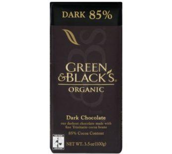 Green & Black's, Organic Dark Chocolate 85% 3.17oz