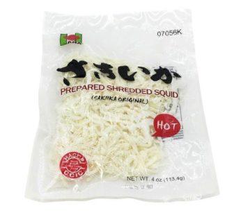 Hana, Prepared Sheredded Squid Smoked Hot 4oz