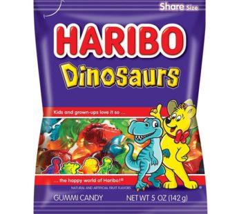 Haribo, Peg Bag Dinosaurs 5oz