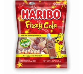 Haribo, Peg Bag Fizzy Cola 5oz