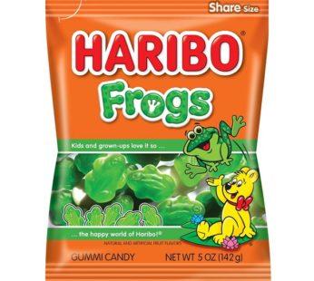 Haribo, Peg Bag Frogs 5oz