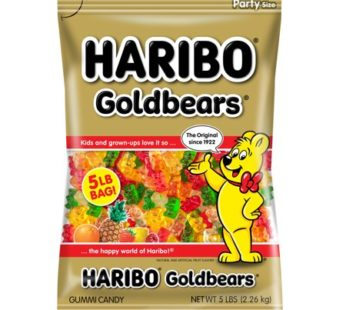 Haribo, Peg Bag Gold Bear 5oz