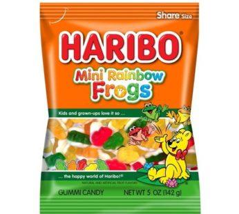 Haribo, Peg Bag Mini Rainbow 5oz