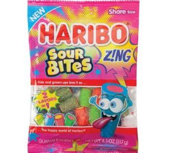 Haribo, Peg Bag Zing Sour Bites 4.5oz