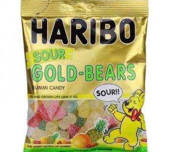 Haribo, Peg Bag Sour Gold Bears 4.5oz