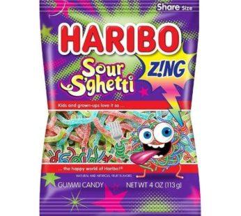 Haribo, Peg Bag Sour S'ghetti 5oz