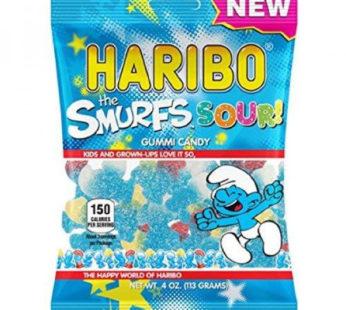 Haribo, Peg Bag The Smurfs Sour 4oz