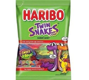Haribo, Peg Bag Twin-Snakes 5oz