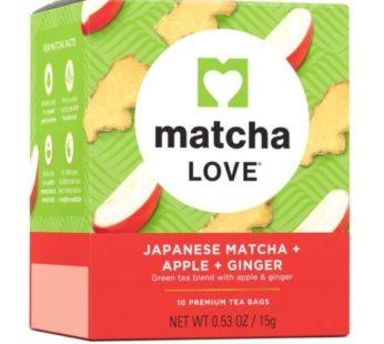 Itoen, ML Tea Bag: Apple+Ginger 10 Bags 0.53oz