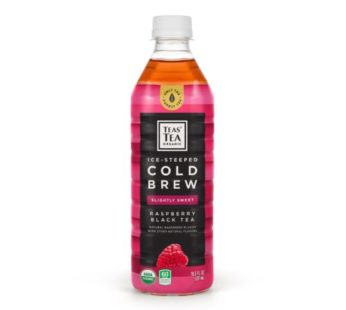 Itoen, Teas' Tea Organic Cold Brew Sweet Black Tea & Raspberry 16.9fl.oz (12) SRP2.99