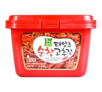 Jonggavision, Hot Pepper Paste (Gochujang) 1.1lb