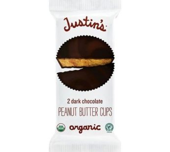 Justin's, Dark Chocolate Peanut Butter Cups 1.4oz