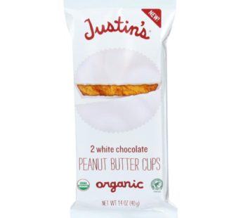 Justin's, White Chocolate Peanut Butter Cups 1.4oz (12) SRP2.99
