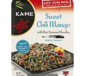 KA-ME Asian Meal Kits Noodles Chili Mango, 9.6 oz