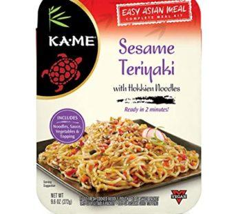 KA-ME Asian Meal Kits Noodles Sesame Teriyaki, 9.6 oz