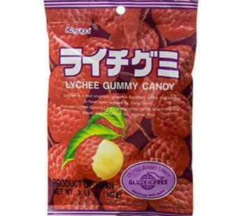 Kasugai, Gummy Lychee 3.59oz
