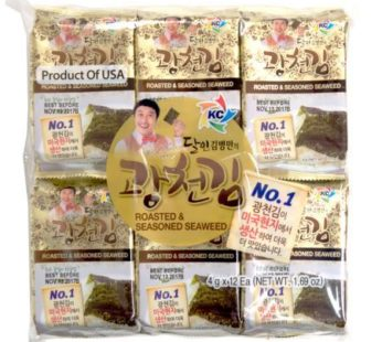 KC, Kim Byungman Roasted & Seasoned Seaweed 1.69oz