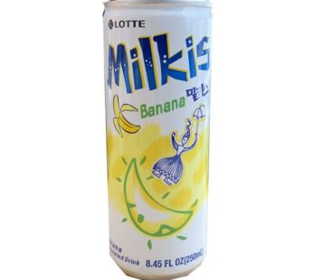 Lotte, Milkis Drink Can Banana 8.45fl.oz (30) SRP2.59