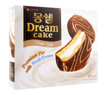 Lotte, Moncher Cake Cream 13.54oz