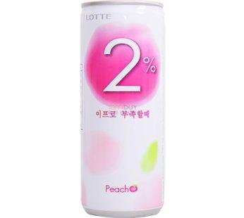 Lotte, Soft Drink 2% 8.1oz