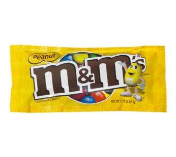 M&M, M&M Single Bag Peanut 1.74oz