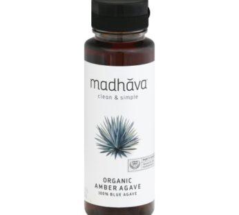 Madhava, Organic Amber Agave 100% Blue Agave 11.75oz