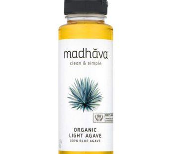 Madhava, Organic light Agave 100% Blue Agave 11.75oz